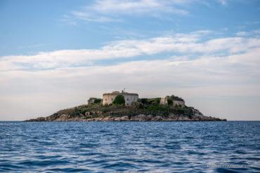 Форт Мамула на острове Ластавица
