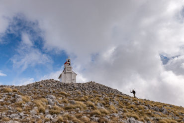 Русский монастырь в Черногории и гора покаяния