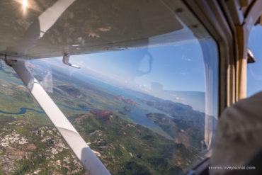 Незабываемый полет над Черногорией! Часть 1.