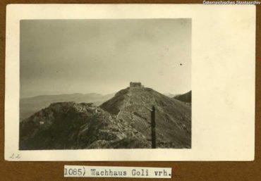Австрийские фортификации в Черногории. Кривошейская линия обороны Боки