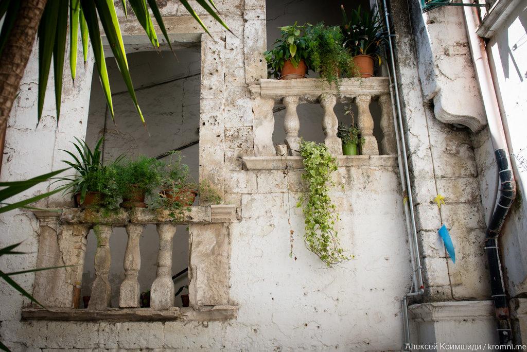 Домики итальянского старого города