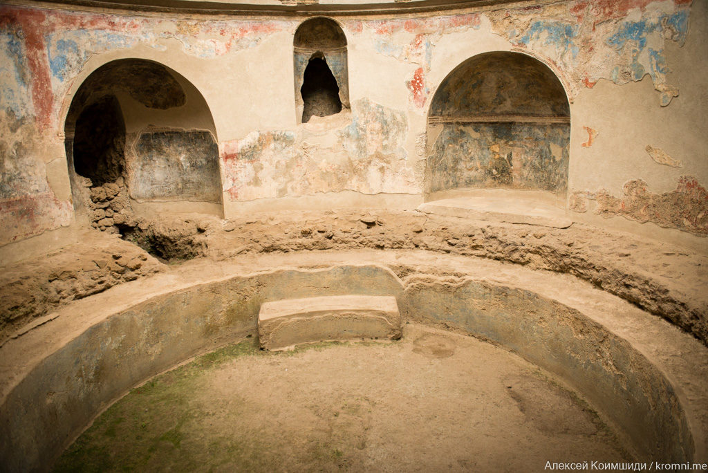 Индивидуальная экскурсия по Древним Помпеям. Стабиевы термы