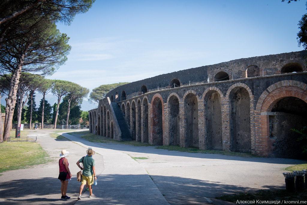 Индивидуальная экскурсия по Древним Помпеям. Амфитеатр