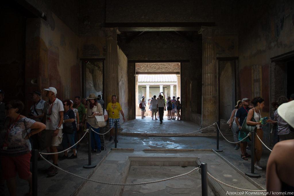 Индивидуальная экскурсия по Древним Помпеям. Частная вилла