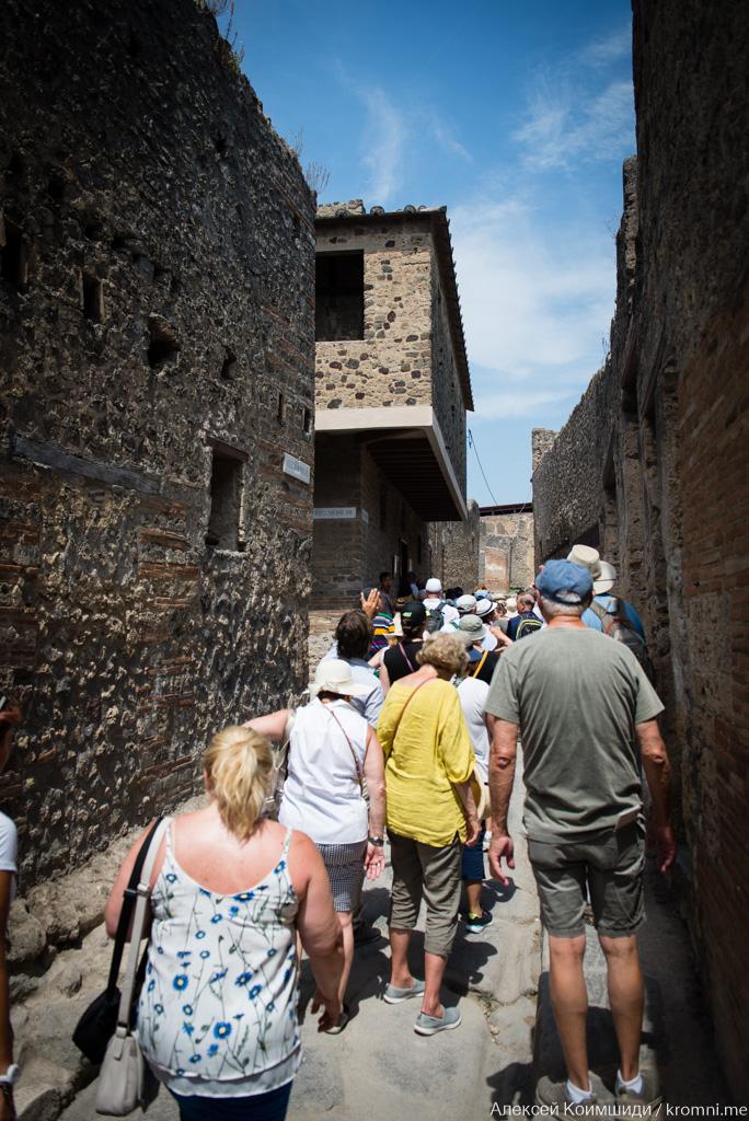 Индивидуальная экскурсия по Древним Помпеям. Лупанарий