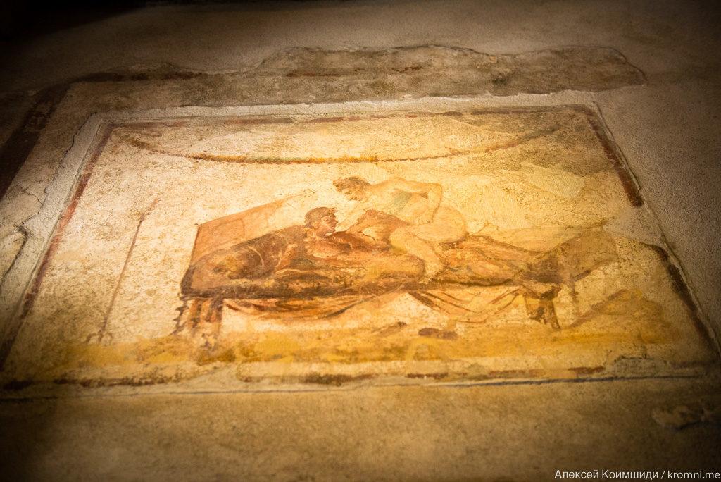 Индивидуальная экскурсия по Древним Помпеям. Эротические фрески