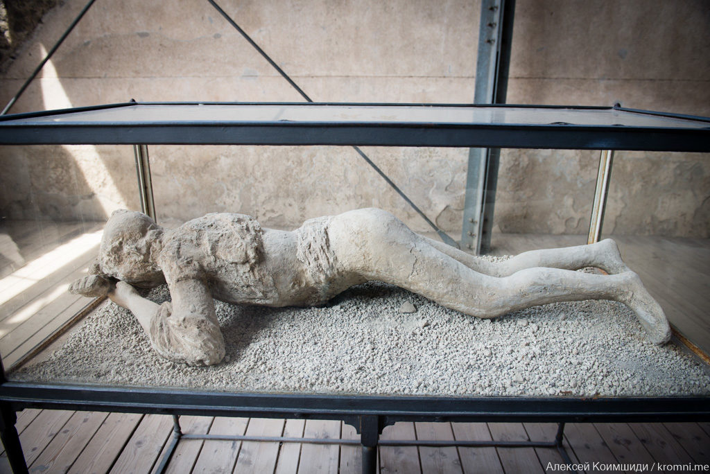 Индивидуальная экскурсия по Древним Помпеям. Погибшая во время извержения девушка