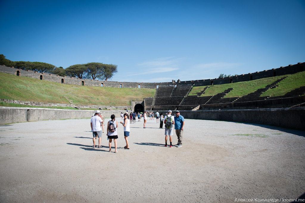 Индивидуальная экскурсия в Помпеях. Амфитеатр