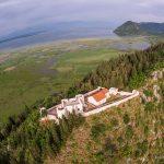 Крепость Бесац. Вид с воздуха.