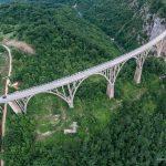 Мост Джурджевича с квадрокоптера