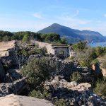 Форт Луштица. Взорванная боевая часть