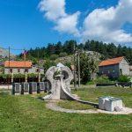 Негуши. Памятник событиям ВМВ