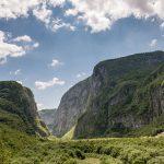 Обратная сторона каньона Мртвицы