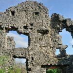 Крепость Бедем. Руины в южной части.