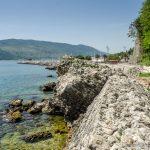 Герцег Нови. Остатки приморской крепостной стены