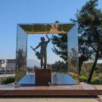 Подгорица. Памятник Высоцкому