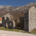 Леденице.. Руины австрийской комендатуры