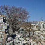 Руины форта Леденице