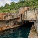 Росе. Укрытие для подводной лодки
