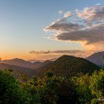 Ильин холм. Вид на горы