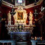 Алтарь церкви Богородица на Рифе