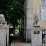 Дом Джукановичей в Цетине. Львы на воротах