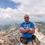 На вершине Черногории